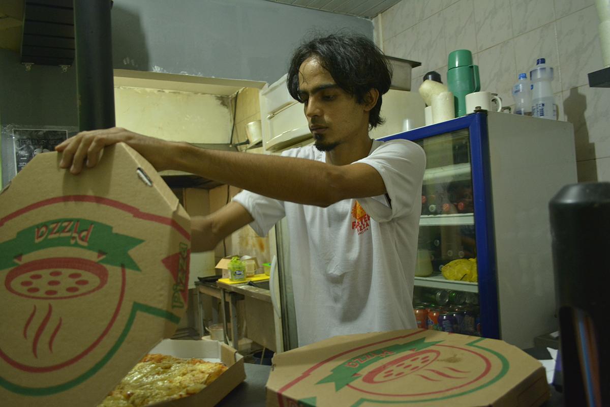 Conheça a pizzaria mais underground da cidade