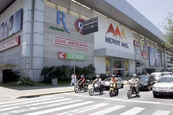 O que era antes do Midway Mall?