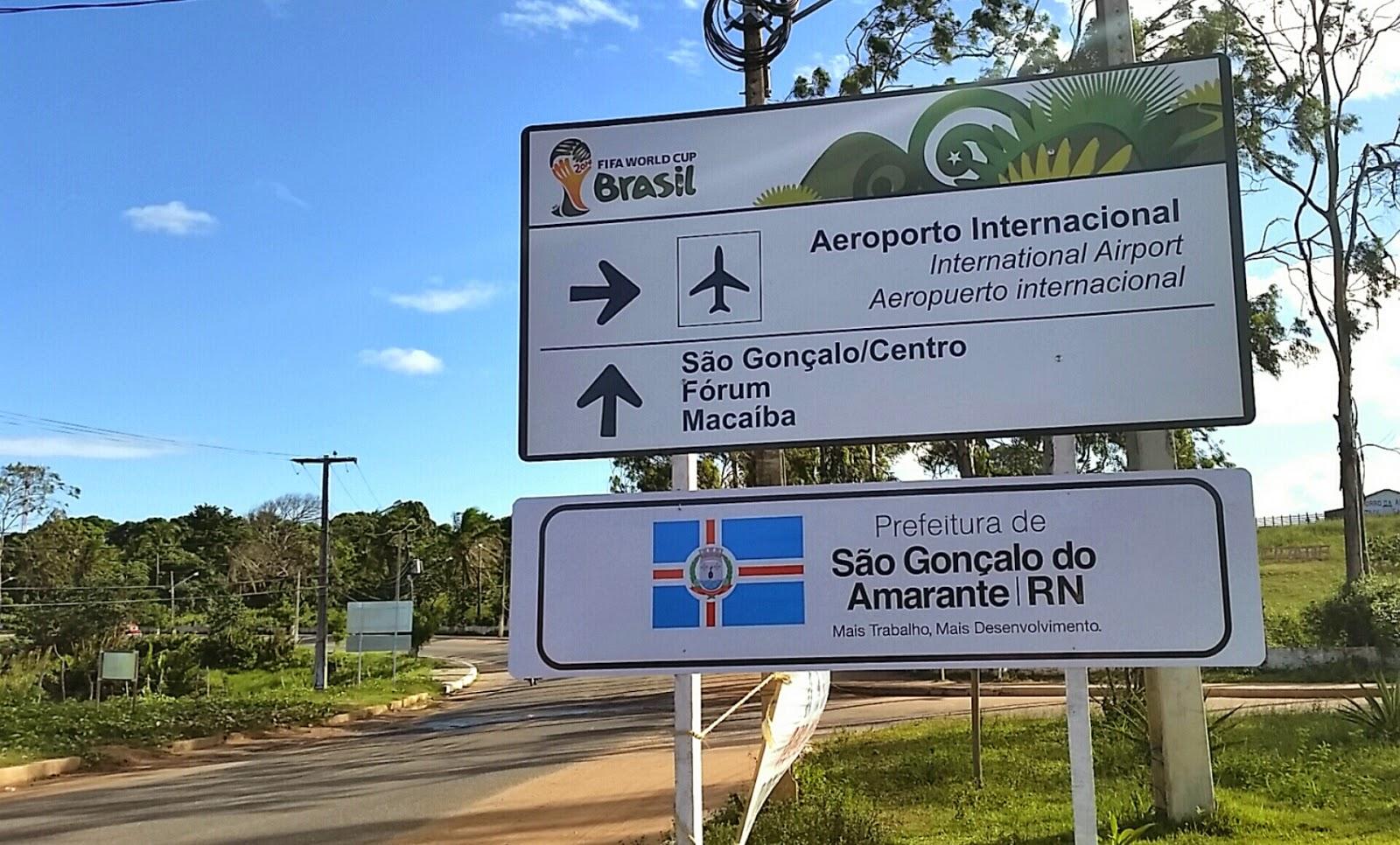 Longa jornada até o Aeroporto Aluízio Alves