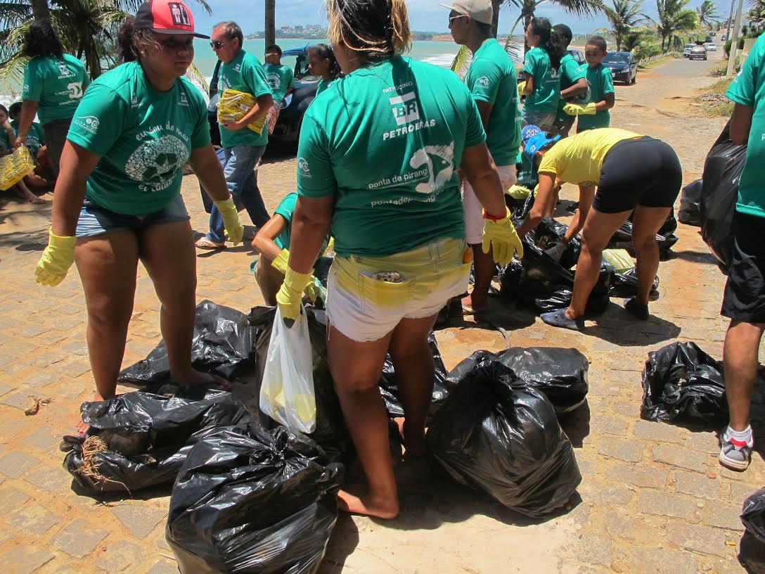 Vamos limpar as praias do litoral sul ?