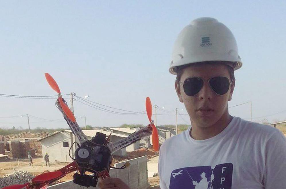 Garoto criou drone para descobrir focos de mosquito da dengue em Mossoró