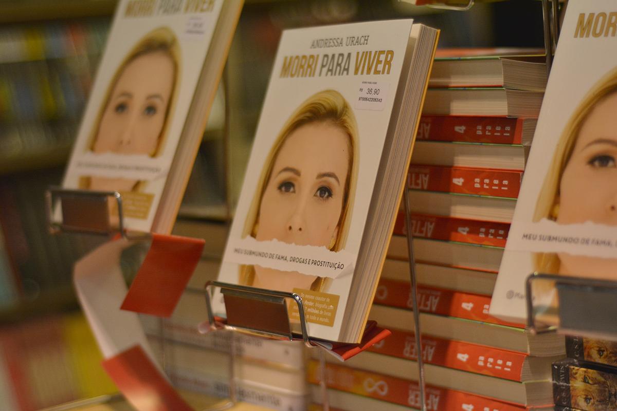 Como foi o lançamento do livro da Andressa Urach em Natal