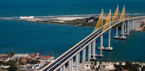 Uma terceira ponte no Rio Potengi começa a ser construída