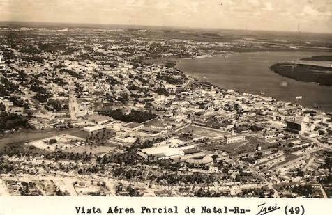 Fotos antigas das vias da capital do RN