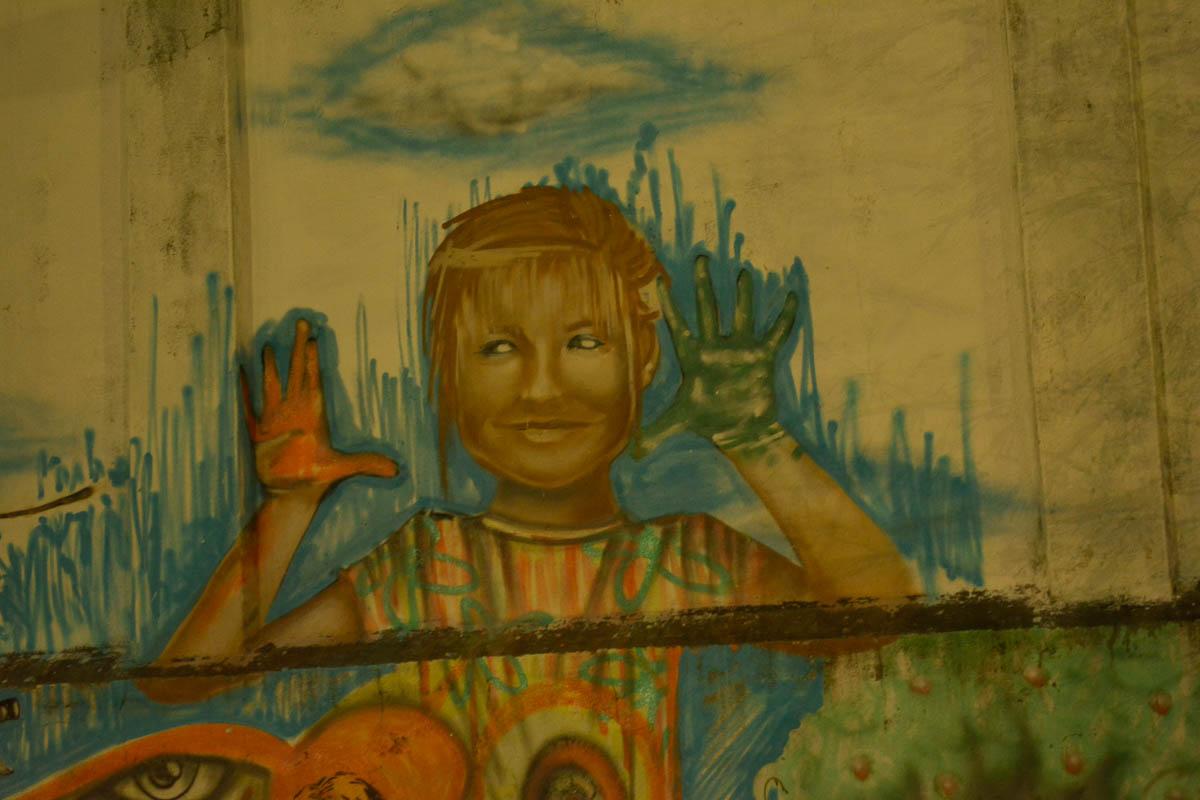 Recebemos uma resposta:  grafite não era da Xuxa