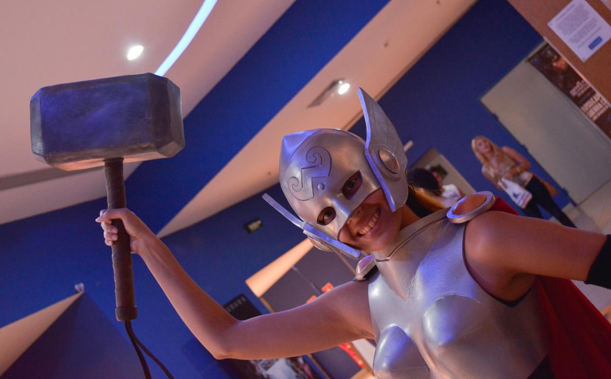 Thor torce pelo Homem de Ferro