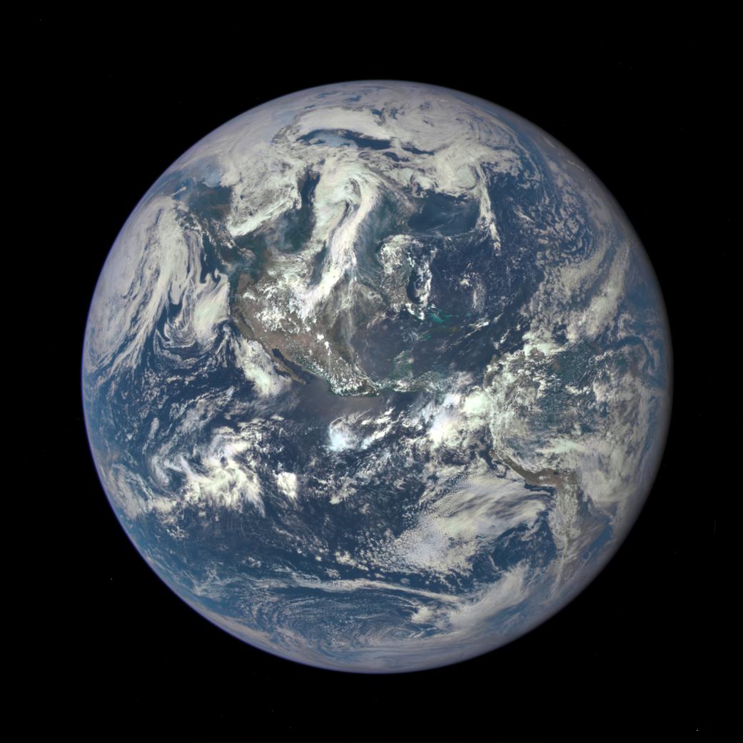 Time-lapse da Terra feito pela Nasa