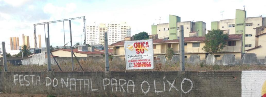 Rogério está na campanha contra as festas natalinas