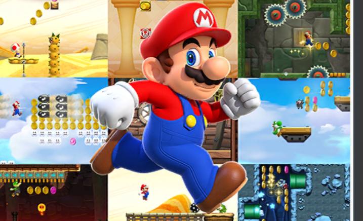 Testando jogo do Super Mario Run e é diferente mesmo