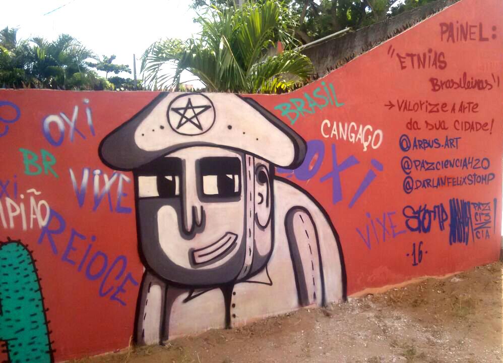 Neópolis vai ser dominada por graffitti neste domingo