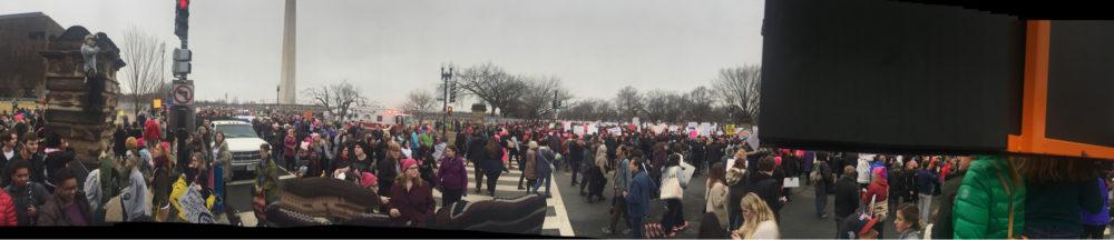 Women's March: Brechando foi a marcha das mulheres contra Trump