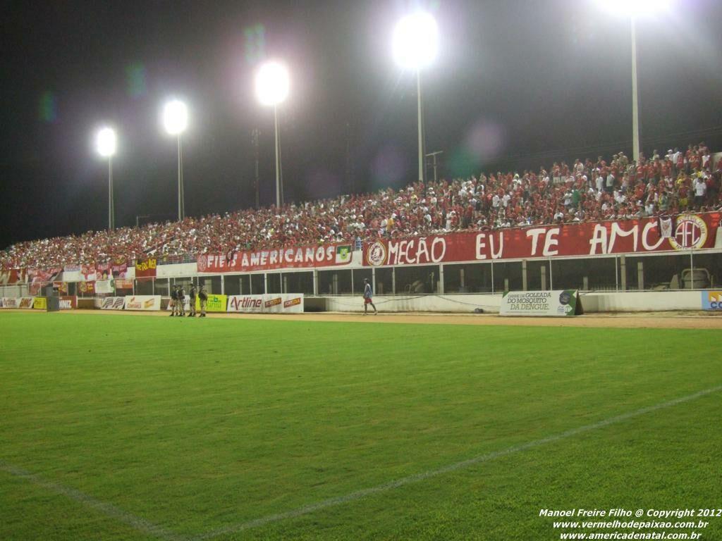 Quais são os estádios existentes no Rio Grande do Norte?