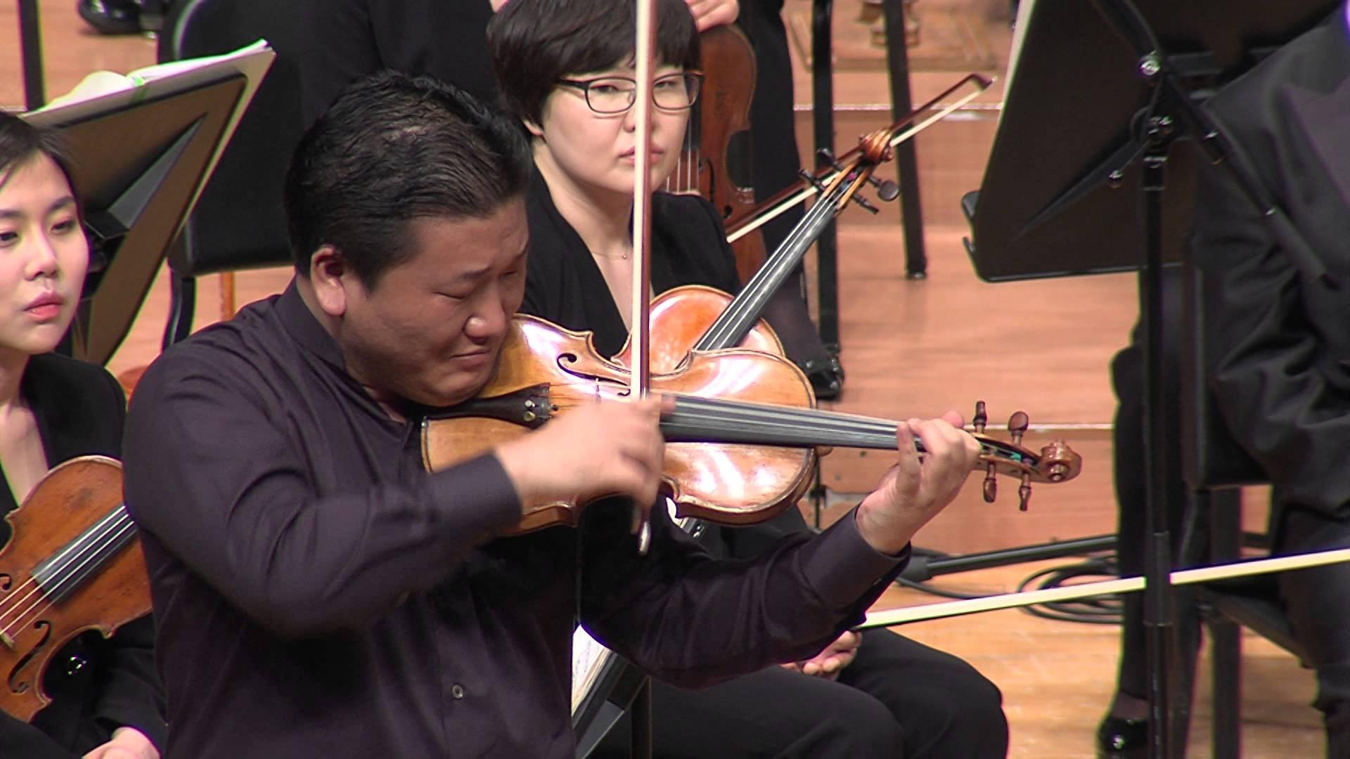 Violinista coreano se apresenta com Orquestra Sinfônica nesta quarta