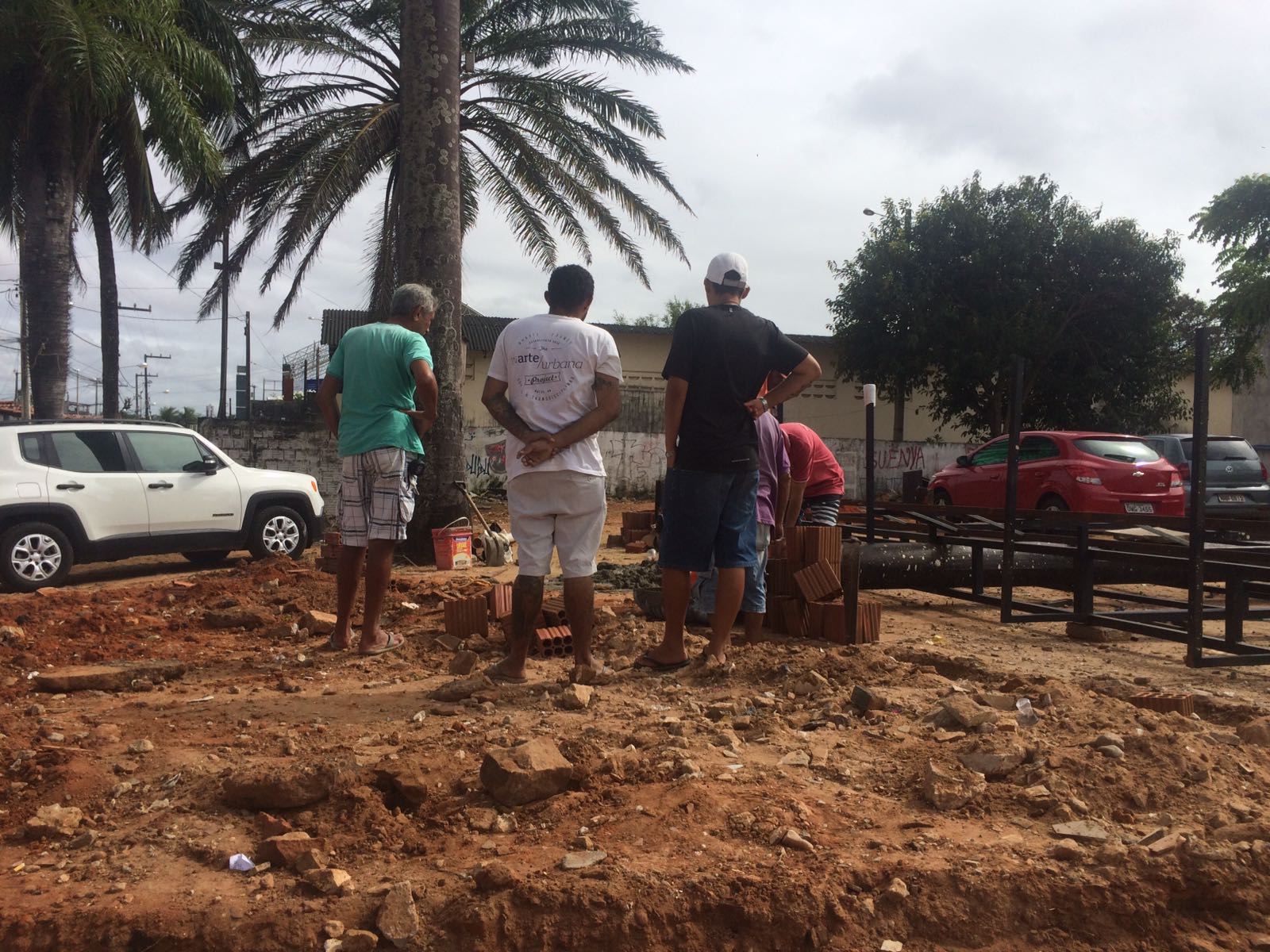 Passo da Pátria ganha anfiteatro construído em parceria com moradores e projeto cultural