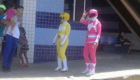 Power Rangers estão em Felipe Camarão