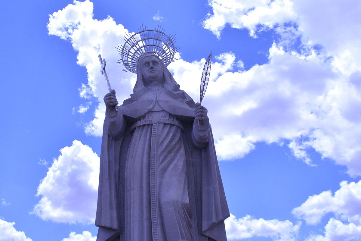 Santa Rita: dia em que conheci a maior estátua da América Latina