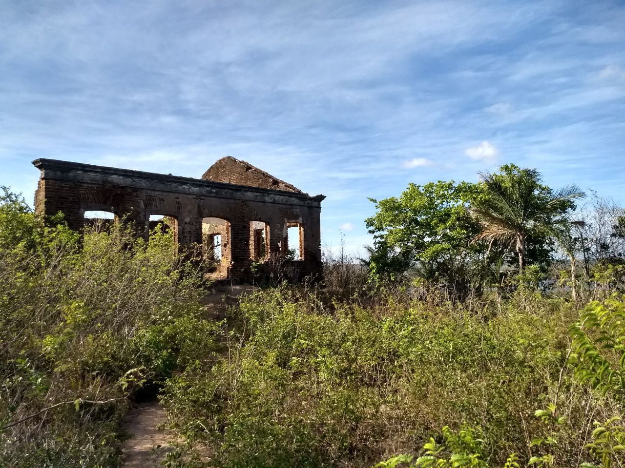 Ruínas de Guarapes é testemunha do desenvolvimento econômico do RN no século XIX