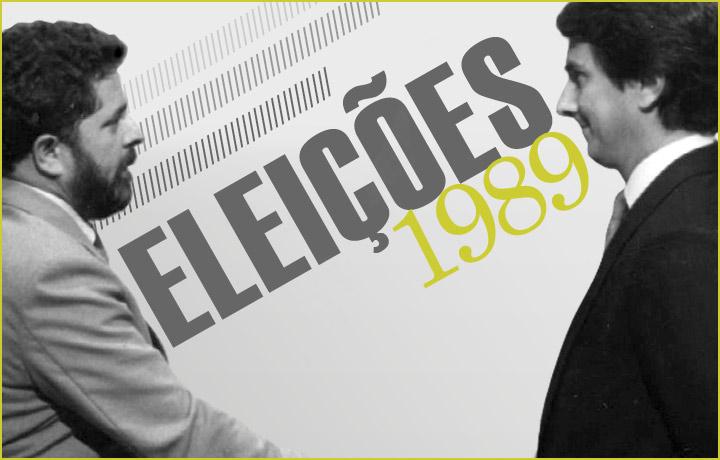 Confira os jingles e campanhas das eleições gerais de 1989