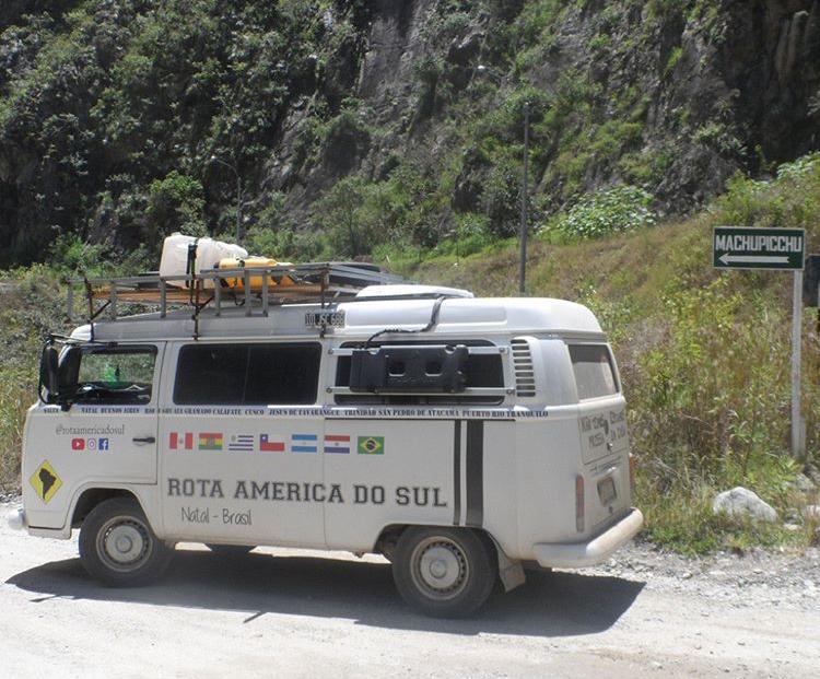 Essa Kombi aventureira rodou pela América do Sul e vamos contar a sua história