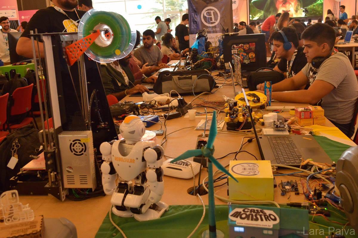 Robótica e o legado da Campus Party na cidade de Pato Branco e também em Natal