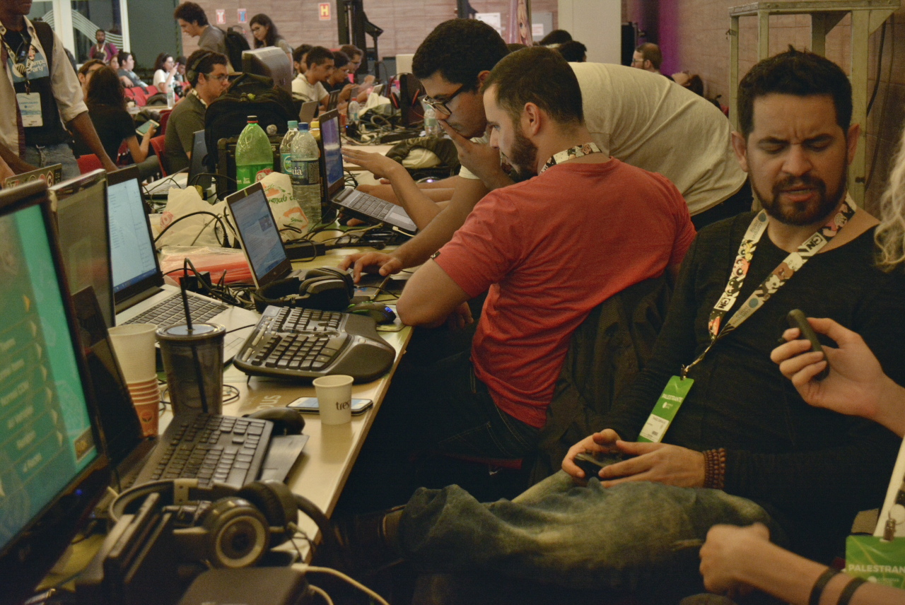 Campus Party sendo vitrine para os jogos produzidos no Rio Grande do Norte