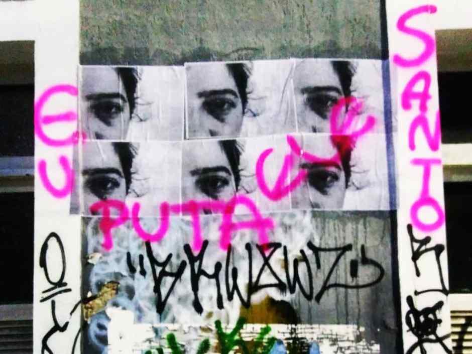 Artista denuncia violência a partir de intervenção urbana