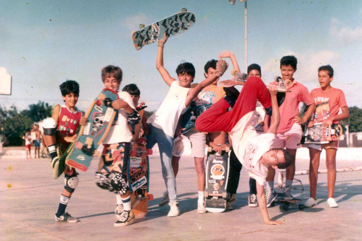 Década de 80, berço do skate em Natal