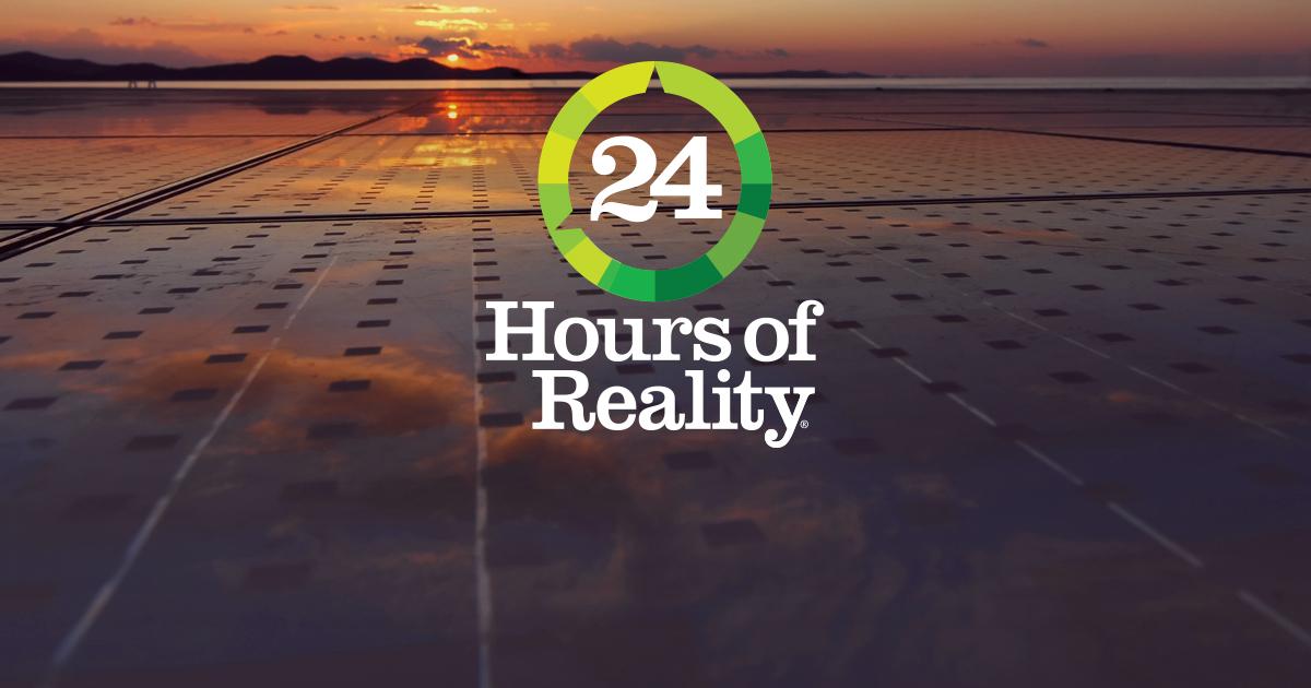 Eco Praça participa do 24 horas de realidade, projeto do Meio Ambiente de Al Gore