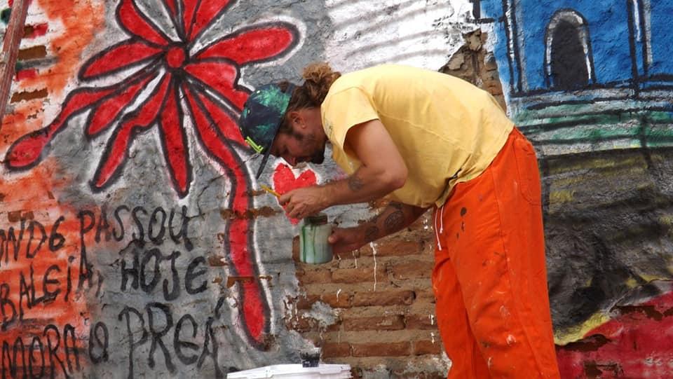 Arte urbana transforma periferia de Currais Novos