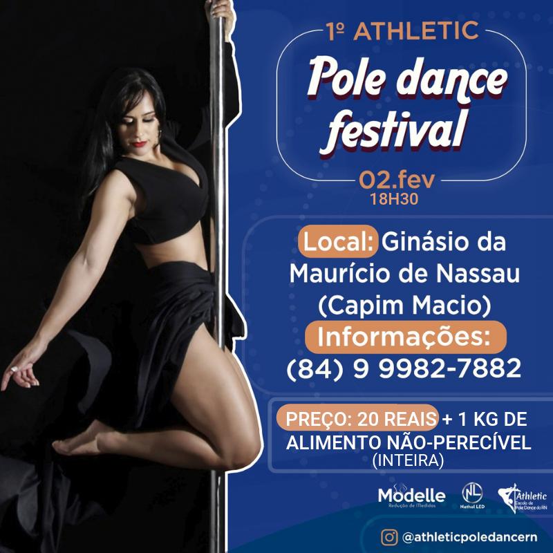 Pole Dance em forma de festival de dança em Natal