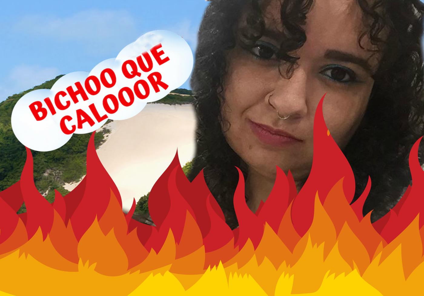 Calor: Estou morrendo! – 3º epi do Brechando Vlog