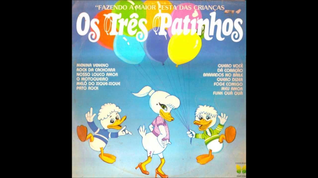 Estranho sucesso infantil dos anos 80 chamado Três Patinhos