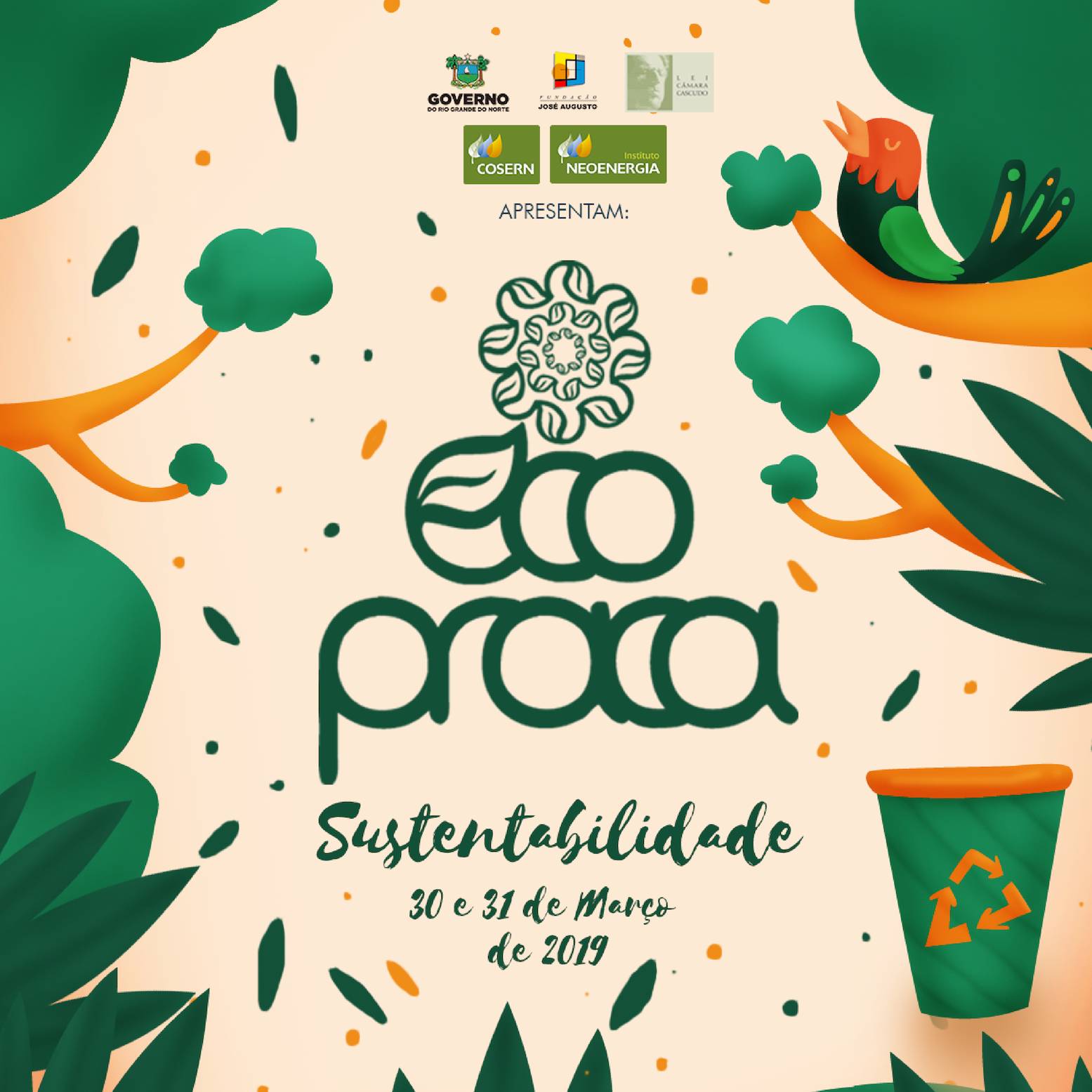 Na Praça do Floca, Eco Praça promoverá evento voltado para sustentabilidade