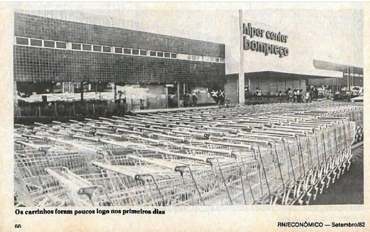Como era o Hiper Bompreço nos anos 80?