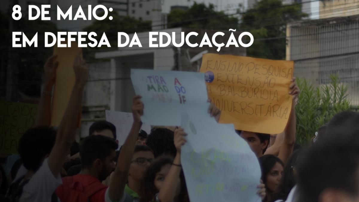 Brechando Vlog: Começo dos protestos a favor da educação