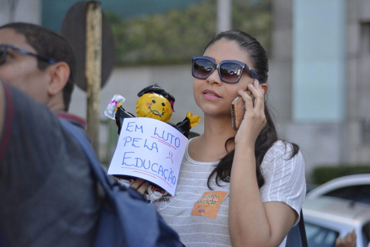 80 fotos do protesto do Tsunami da Educação em Natal-RN
