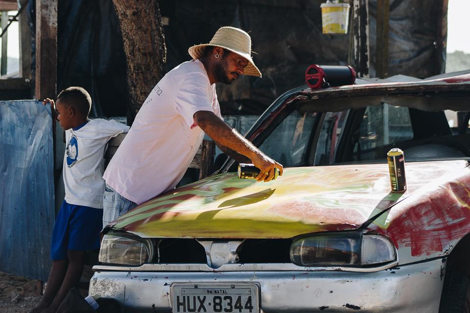 INarteurbana: artistas voltam a grafitar o Passo da Pátria