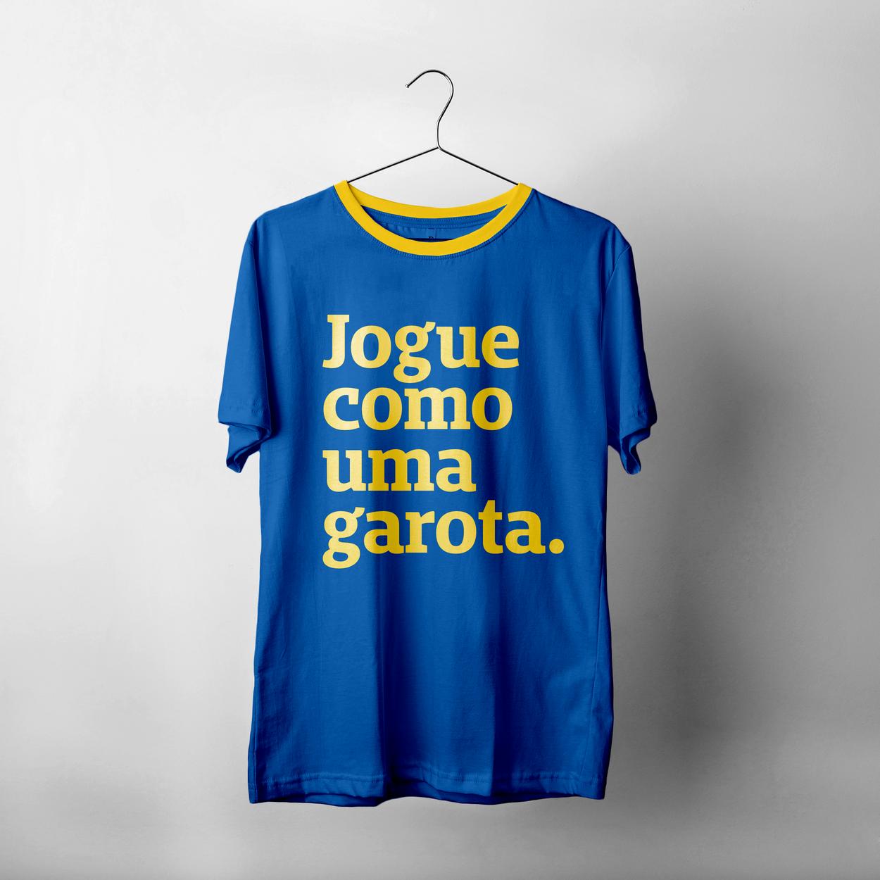 """Como adquirir camiseta """"Jogue Uma Garota"""" da Copa do Mundo feminino"""