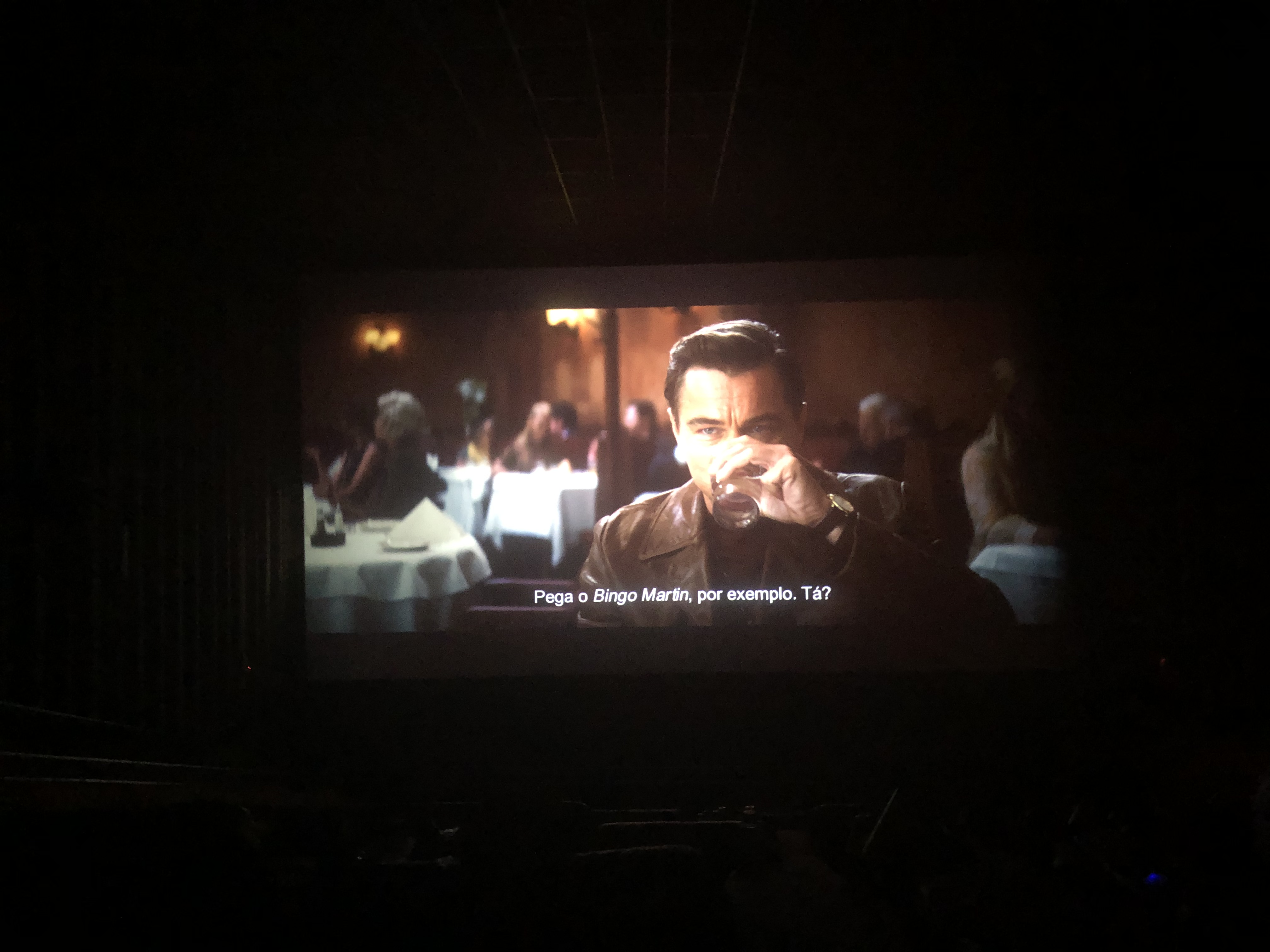 Queria ver Bacurau, mas fui ver Tarantino