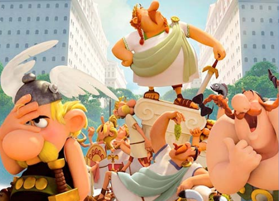 Asterix e outros filmes infantis estão em cartaz em Natal