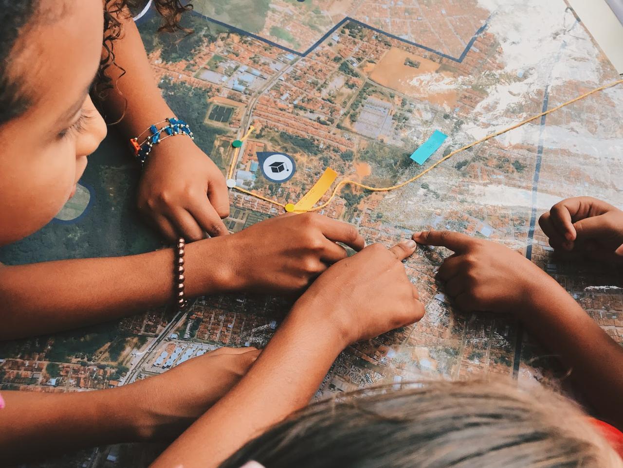 Projeto ensina urbanismo para as crianças