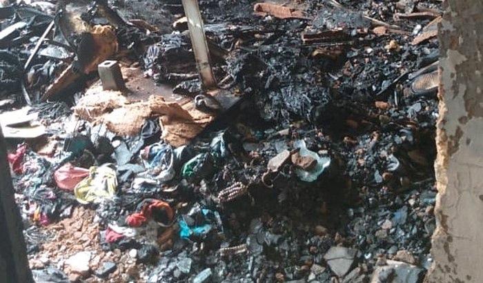 Estudante da UFRN perde seu apartamento em incêndio
