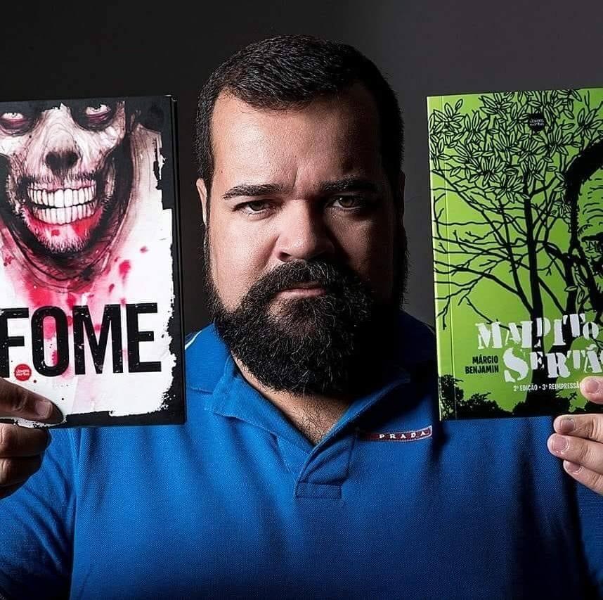 Márcio Benjamin: Tem escritor potiguar nos Estados Unidos