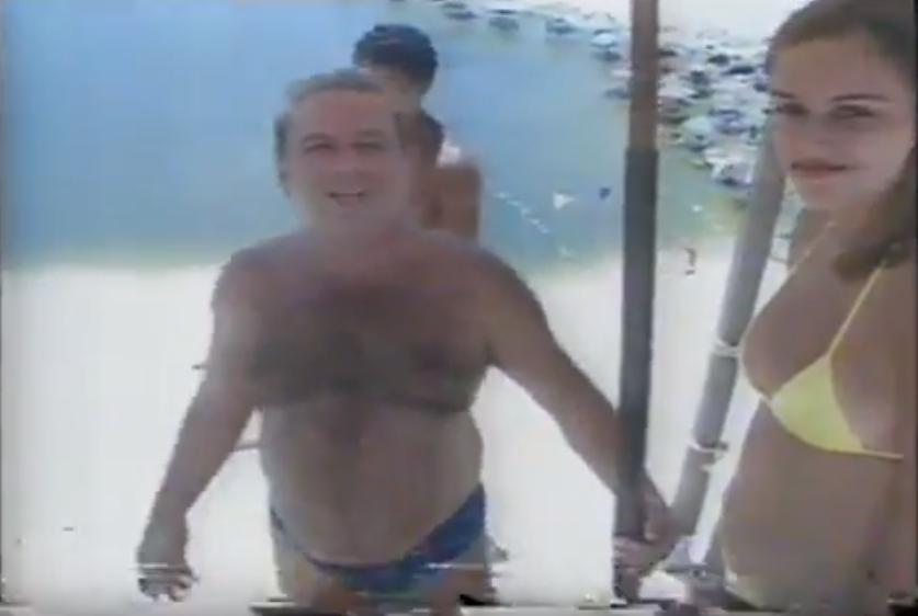 """Skibunda no """"Domingão do Faustão"""" em 1997"""