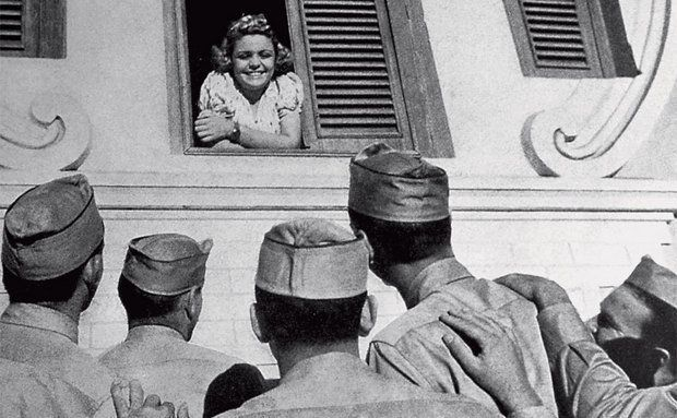 30 fotos de Natal durante a Segunda Guerra Mundial