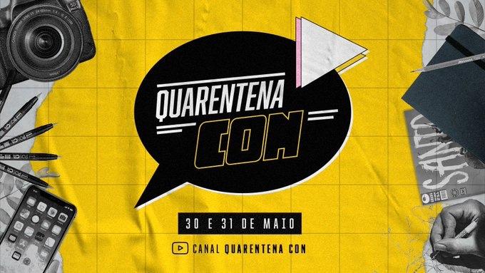 Quarentena Con: Convenção de quadrinhos na Covid-19