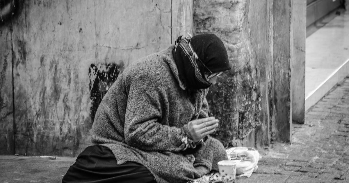 Uma campanha para ajudar moradores de rua na pandemia
