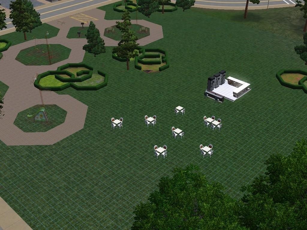RJ lota bar e Natal, La Luna de The Sims