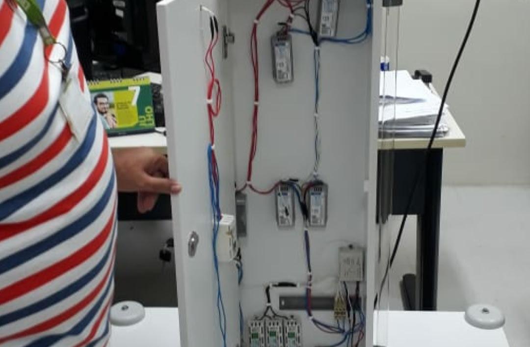 Hospital potiguar seu próprio equipamento de desinfecção