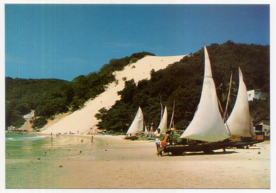Em 1989, o Morro do Careca foi interditado